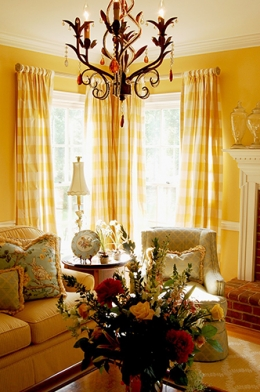 Travis Pond Living Room